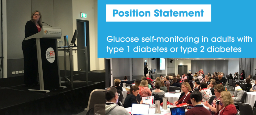 Diabetes Australia's new Position Statement: glucose monitoring